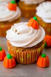 Healthy Pumpkin Dessert Bars by My Favorite Pumpkin Cupcakes Sallys Baking Addiction