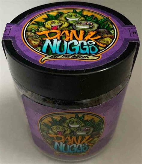 Dank Nuggs Edibles 350mg Strawberry Punch Edibles Order