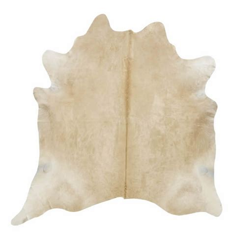 How To Cowhide by Solid Beige Cowhide Rug