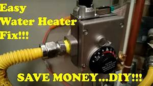 Diy  Easy Replacement Of Water Heater Thermostat