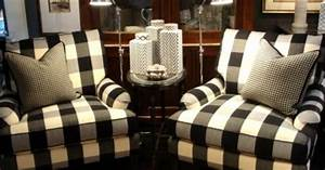 Buffalo Check Chairs BUFFALO CHECK Pinterest White Gold