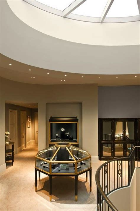 top level skylit space harry winstons  boutique