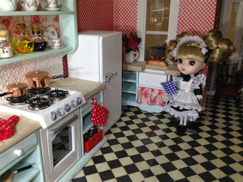 Once Upon A Doll Collection  Shabby Chic Kitchen