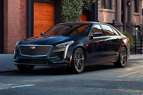 2019 Cadillac Ct6 V-sport Twin Turbo V-8 First Look