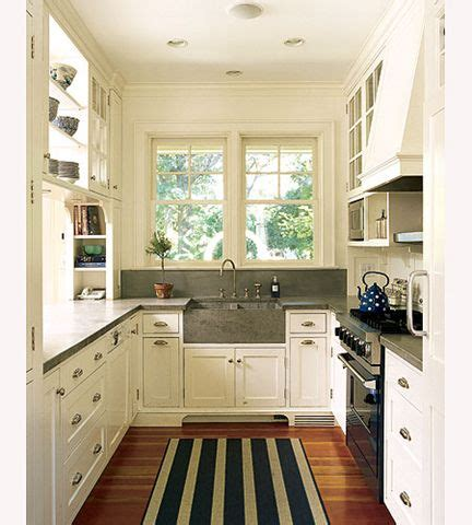 how to make a galley kitchen look larger how to make a small kitchen design appear larger kitchen 9786