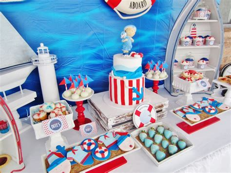 Nautical Baby Shower Decorations For Home: It's A Boy Nautical Baby Shower