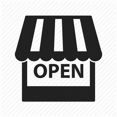 Open Marketplace Shopping Icon Market Ecommerce Webshop