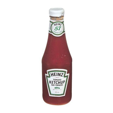 Heinz - Tomato Ketchup Glass Bottle Kosher - 375 ml - Bulk ...
