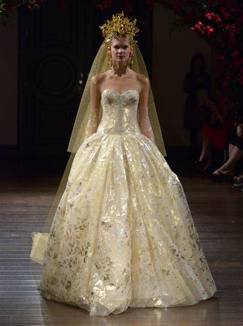 Gold Wedding Dresses Dresscab