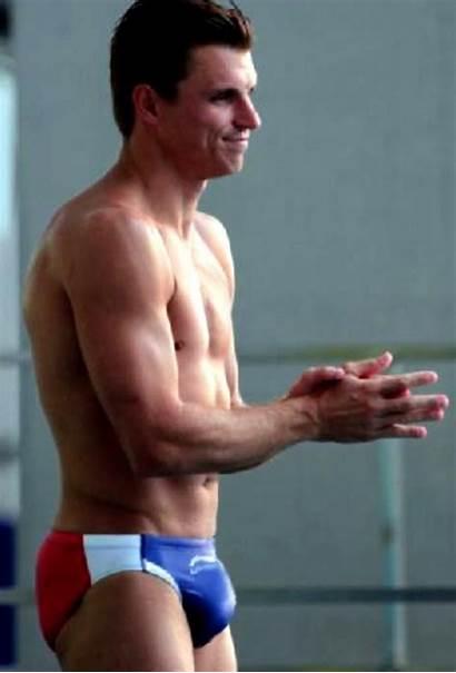 Troy Dumais Olympic Bulge Diver Speedo Male