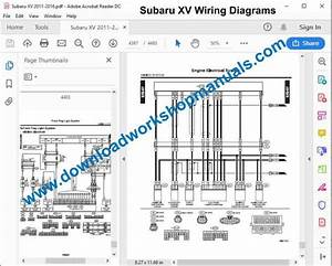 Subaru Xv Workshop Wiring Diagram