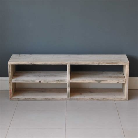 Reclaimed Timber Media Console Table