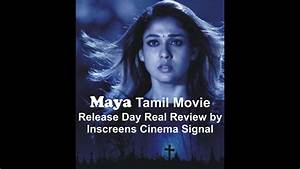 Maya Tamil Movie Review by Inscreens Cinema Signal - YouTube