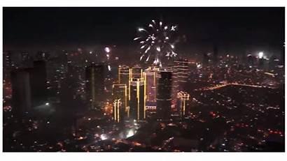 Fireworks Manila Eve Display Won Spectacular Midnight