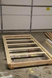 DIY Twin Platform Bed Frame