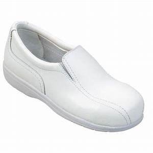 Chaussure De Securite Cuisine Femme : chaussure de cuisine de s curit s1 professionnelle de travail blanche en cuir iso en 20345 sb ~ Farleysfitness.com Idées de Décoration