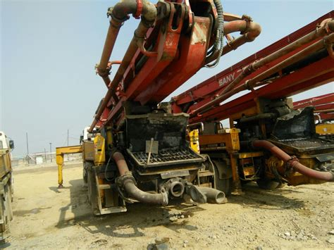 boom placer for sale buy used sany heavy industry 37