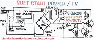 Auto Soft Start For Electronic Device