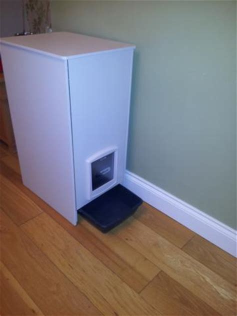 Indoor And Outdoor Cat Litter Cabinets And Litter Tray