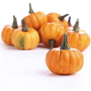 miniature artificial pumpkins fall florals fall and halloween holiday crafts