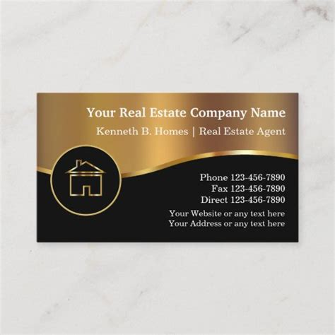 real estate photography business cards