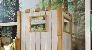 Kinderbett Weiß Holz : kinderhochbett als ritterburg aus holz kids paradise ~ Whattoseeinmadrid.com Haus und Dekorationen