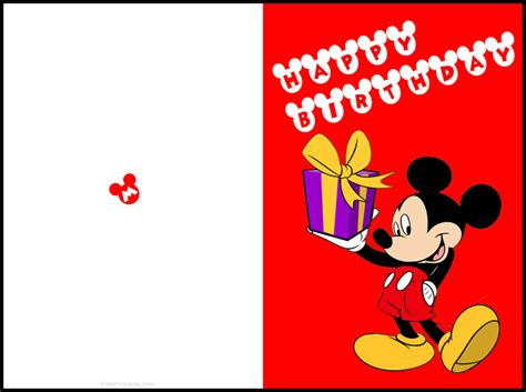 printable mickey mouse birthday cards