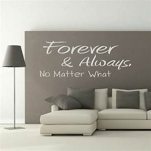 wall stickers quotes a quote world With wall decals quotes