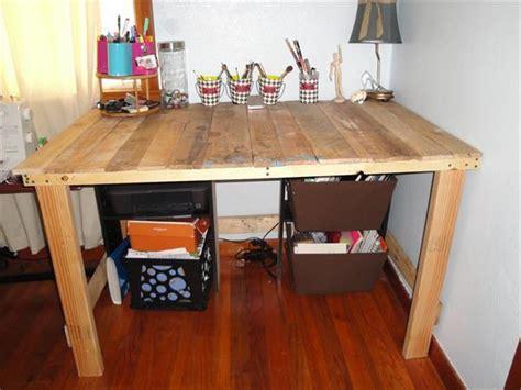 pallet desk designs pallets designs