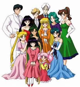IMVU: Group: Sailor Moon : The Sailor Scouts group