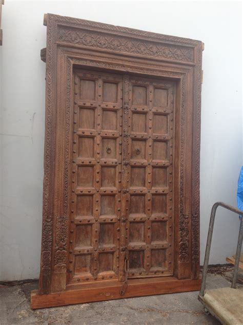 rustic and antique wood doors in san diego reclaimed and