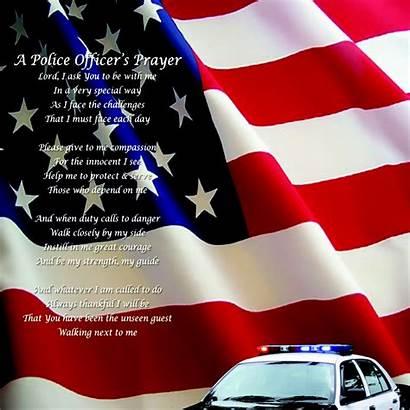 Police Enforcement Law Officer Prayer Officers National