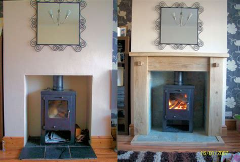 Photos Of Rustic Oak Fire Surrounds
