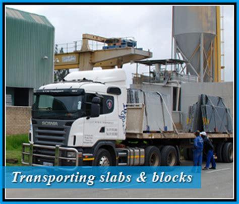 transport services vt marble granite