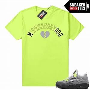 Sneakers Outfit Neon 4s Jordan T Shirt Match Sneaker
