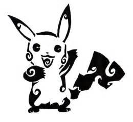 Tribal Pokemon Tattoos