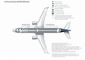 Seat Map  Embraer Erj 190