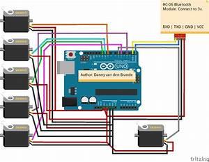 Arduino Motor Shield Servo Code