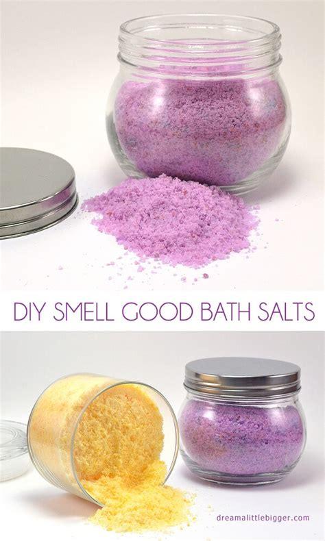 diy smell good bath salts dream   bigger