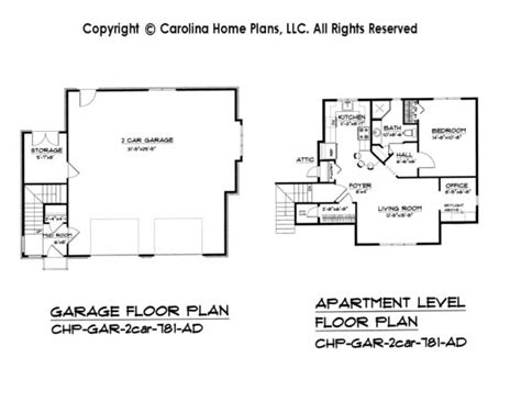 garage floor plans with apartment gallery for gt 2 car garage floor plans