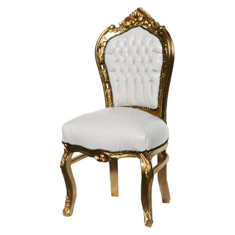 furniture heartfeaturejpg white and gold dining chairs