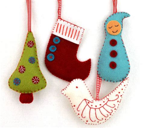 christmas decorations craft kit by corinne lapierre notonthehighstreet com