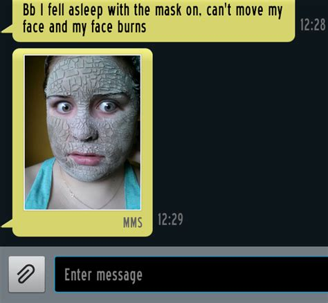 Face Mask Meme - these hilarious couple texts will give you hard laugh