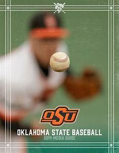 2014 Oklahoma State Baseball Media Guide on Behance