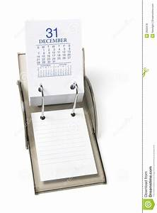 Calendrier De Bureau Photo Stock Image Du Plan Vacances