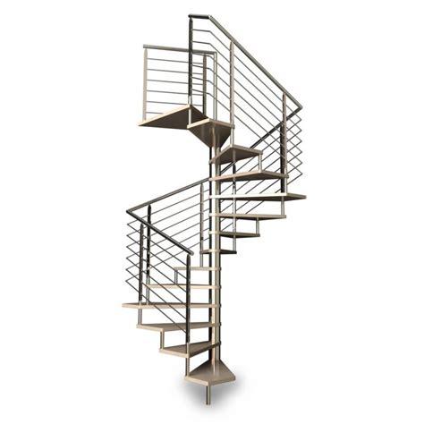 escalier h 233 lico 239 dal carr 233 re inox