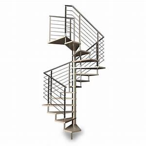 Escalier Helicoidal Exterieur Prix : escalier h lico dal carr rampe inox ~ Premium-room.com Idées de Décoration