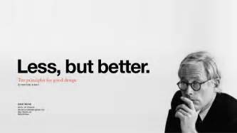 designer less less but better dieter rams 39 principles of design