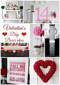 valentine s day decorating ideas Valentine's Day Decor Ideas - Classy Clutter