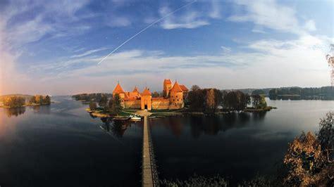 bridges lithuania trakai fort baltic states unseen